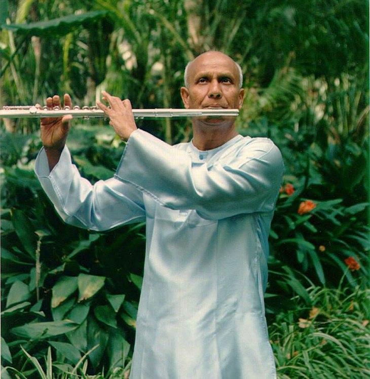 sri chinmoy flauta meditacao matinal diaria