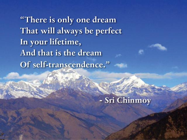 palavra-do-dia-there-is-only-one-dream-self-transcendence